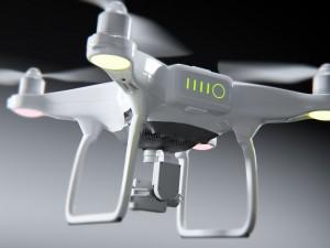 Dji phantom 4 quadcopter drone