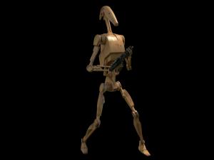 Battle Droid highPoly