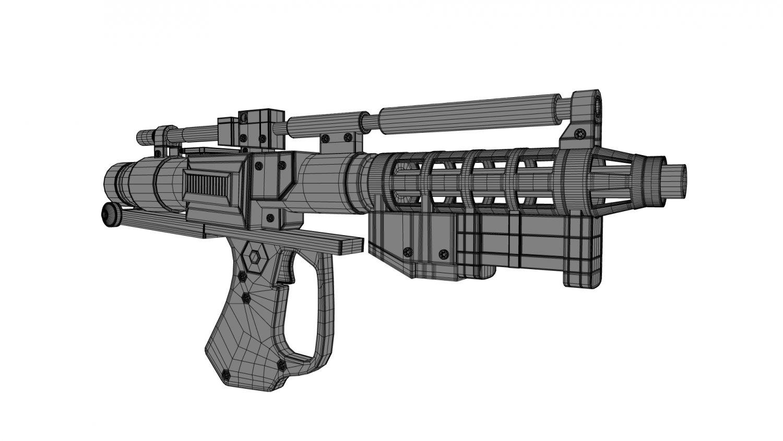 Star Wars Laser Blaster 3D Model in SCI-FI 3DExport