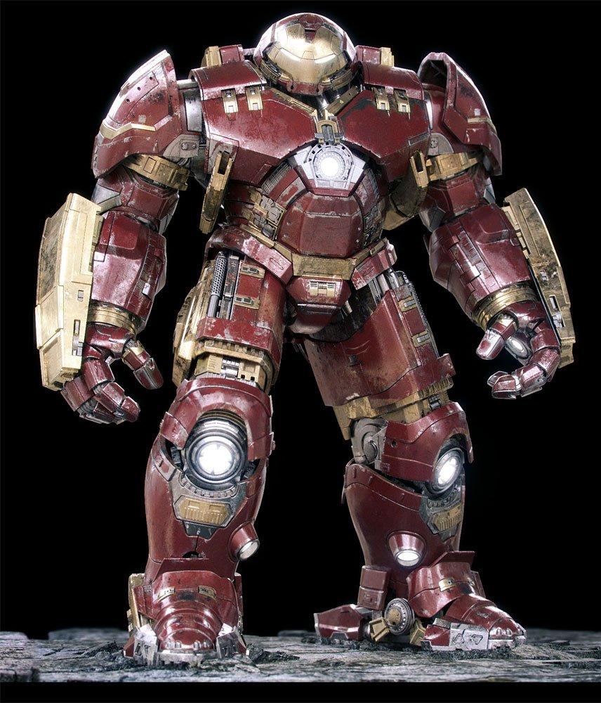 Hulkbuster - Iron Man Mk 44 3D Model in Robot 3DExport