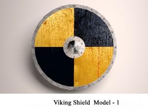 Viking Shield model - 1