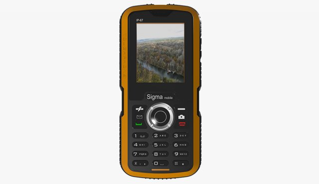 Sigma Mobile X-Treme IP-67 3D Model