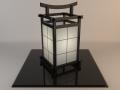Japanese lamp 001