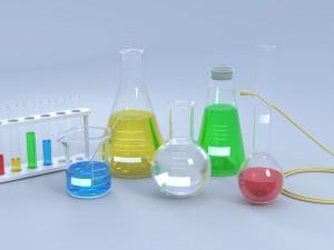Chemical Laboratory Glassware Set