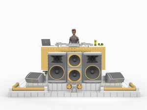 DJ Stage Set LHSP