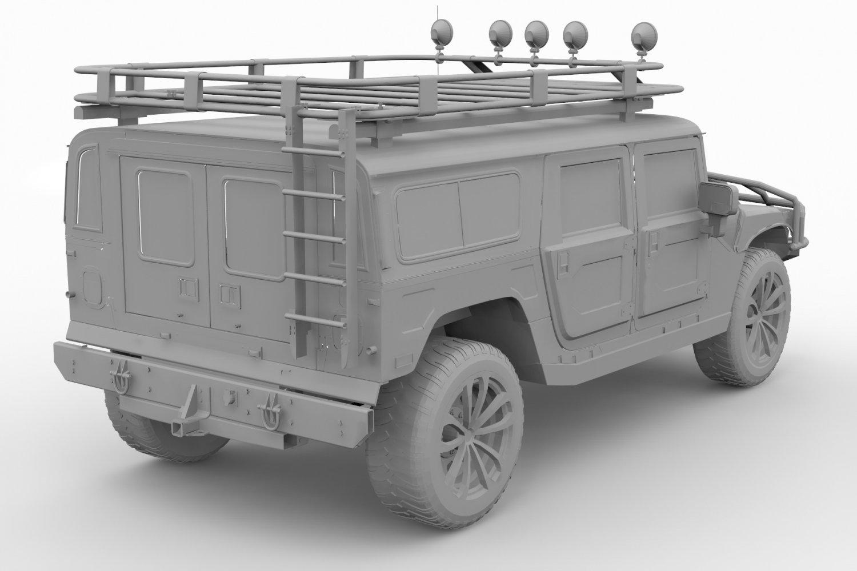 100+ [ Military Hummer H1 ] | Lego Technic Hummer H1 ...