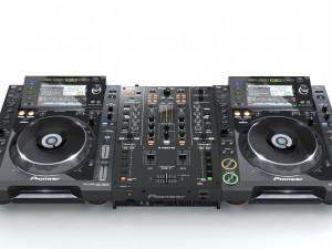 Pioneer DJM T1 CDJ 2000
