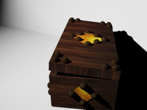 Low Poly Old Box