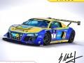 Audi R8 LMS - 24h Njrburgring Champion Car 2012