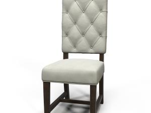 Ashton Tufted fabric chair