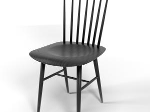 Tucker chair black