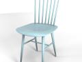 Tucker chair blue