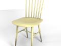 Tucker chair yellow