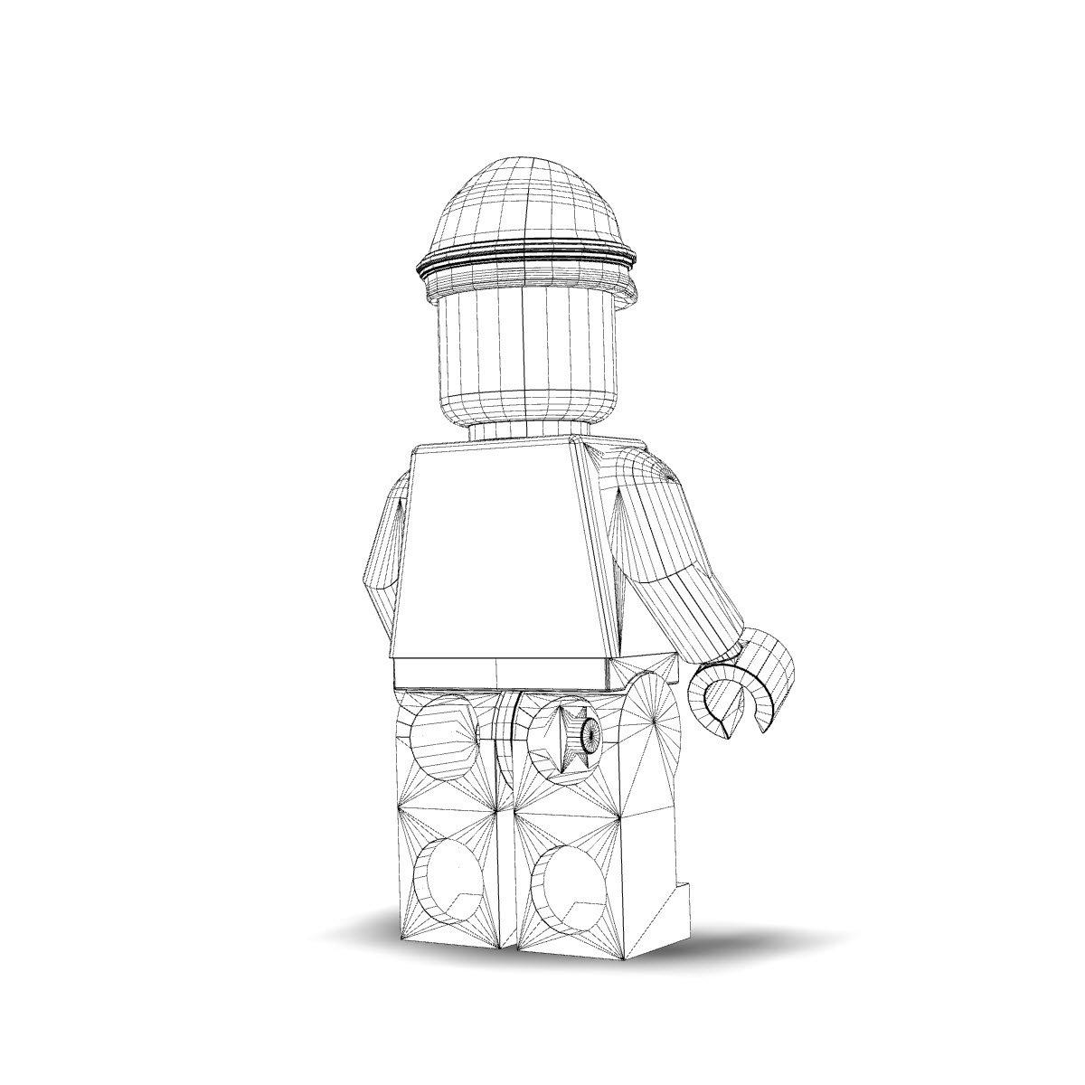 Admiral Piett Lego 3d Model In Other 3dexport