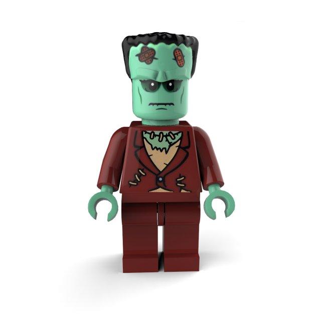 Frankenstein Lego 3D Model