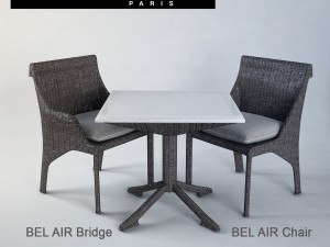 BEL AIR Chair and Table