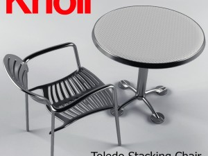 Toledo Stacking Chair and Table