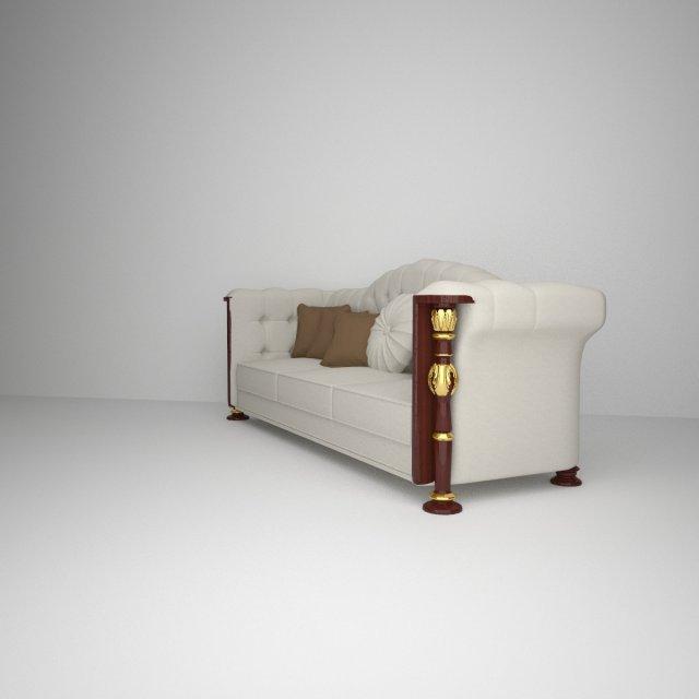 Decorative Sofa 3D Model