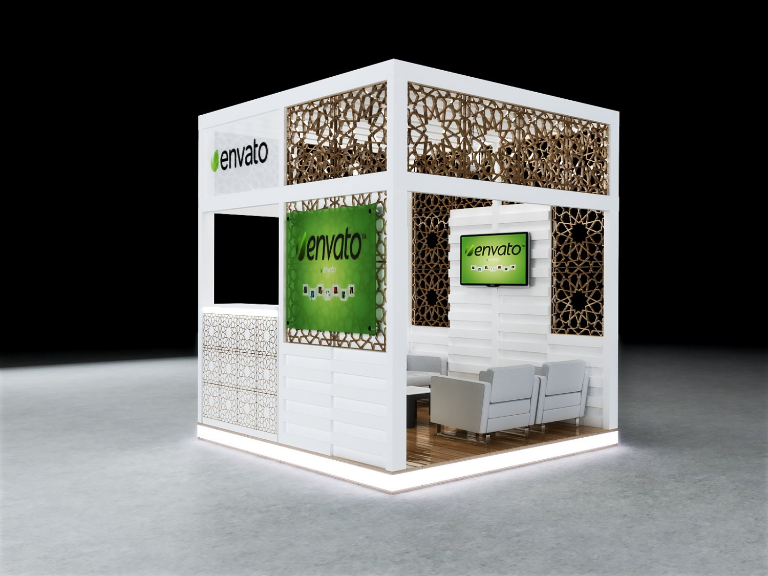 exhibition stand 3d model free download