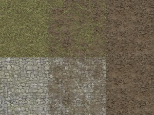 Grass Tile Mud Outdoor Texture Pack