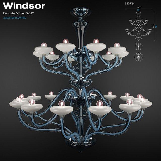 BarovierToso Windsor 3D Model