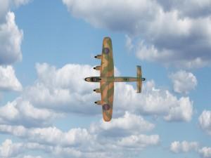 Lancaster Military 3D Fighter Model