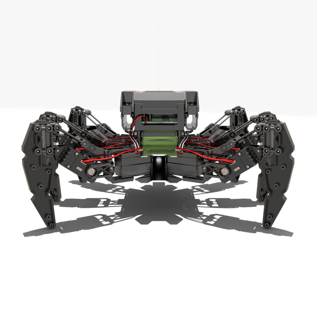 Japanese Hexapod Robot Kondo KMR-M6 3D Model in Toys 3DExport