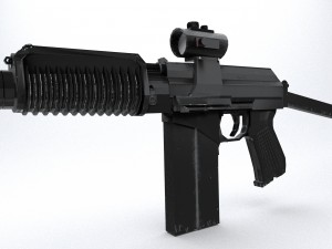 Carbine assault rifle 9a-91