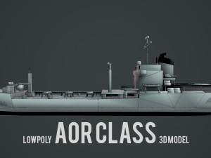 Lowpoly Aor Class Ship