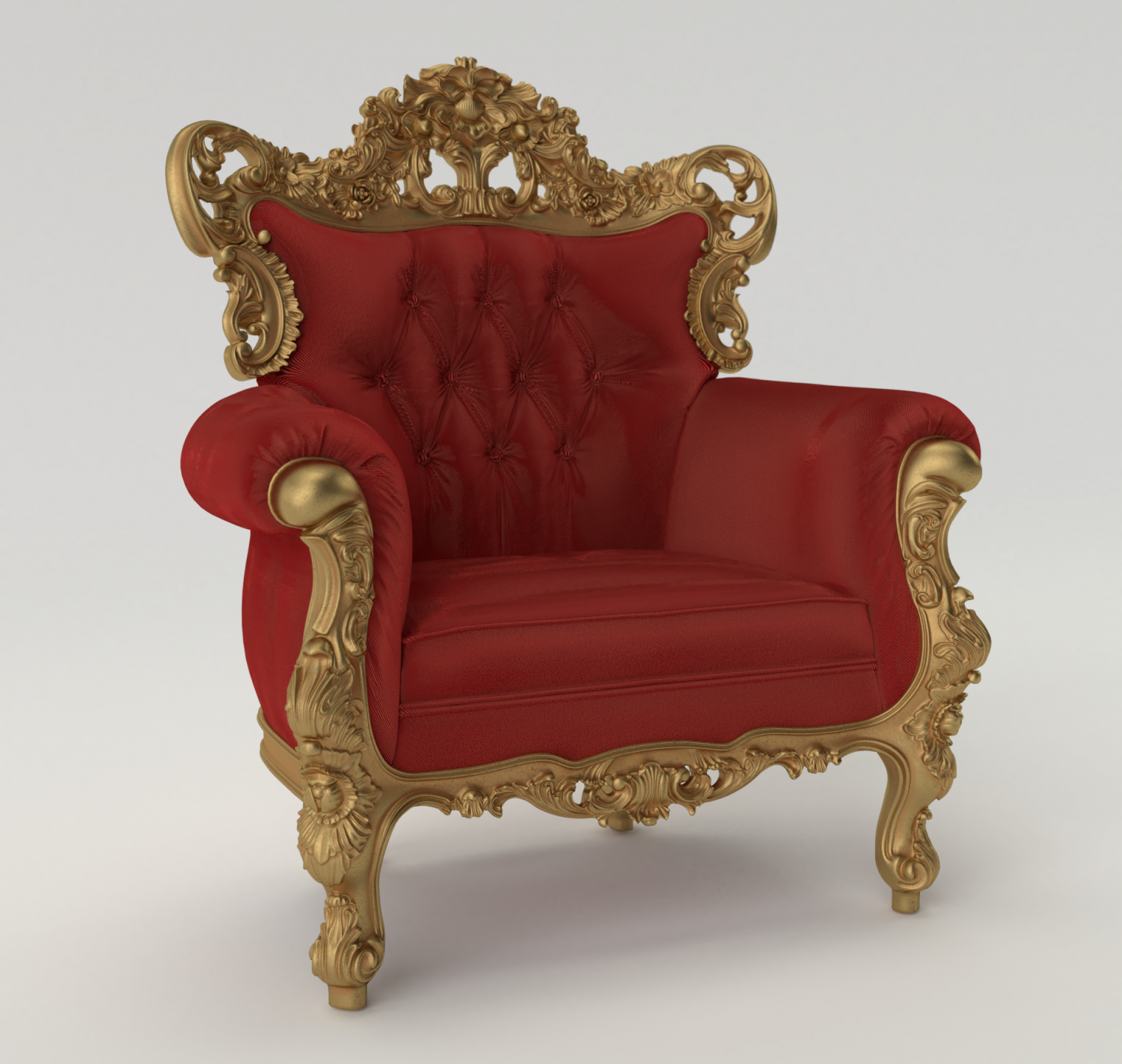 Baroque Chair 3d Model In Chair 3dexport