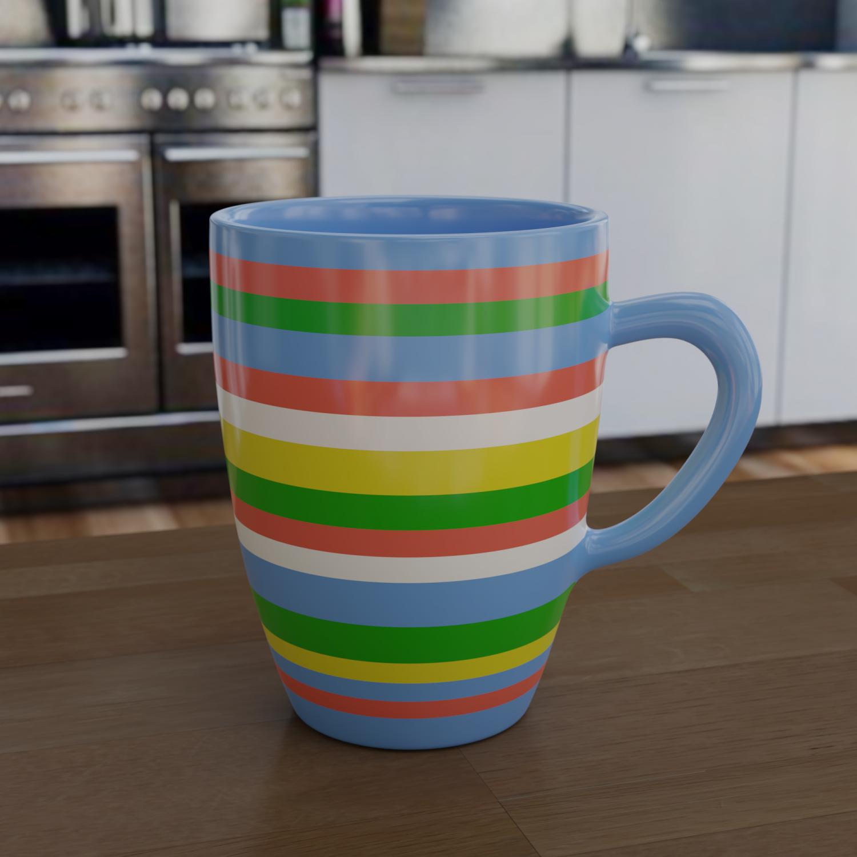 Coffe mug Free 3D Model in Cookware Tools 3DExport
