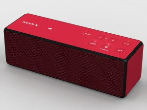 Sony SRS-X33 Red Bluetooth Portable Speaker