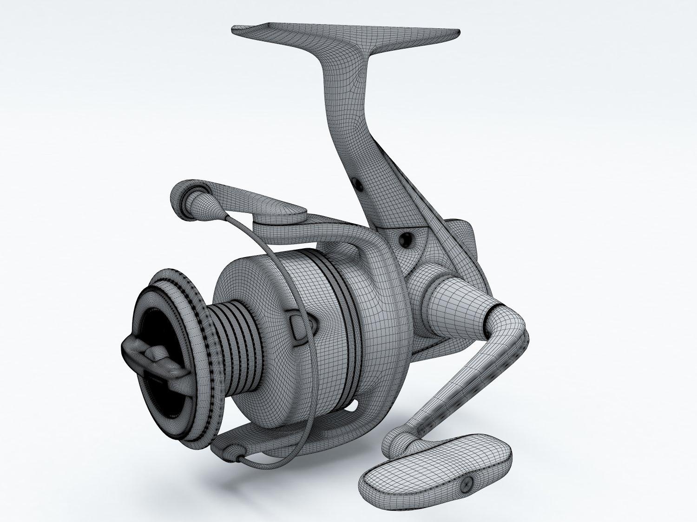 Spinning reels 3D Model in Sports Equipment 3DExport