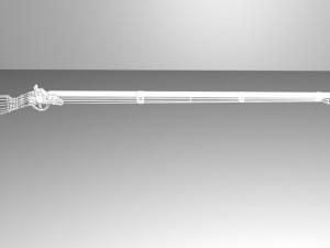 Flintlock rifle kremnevoe rugio