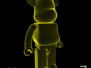 Yellow Xray Bear Brick