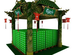 Exhibition Booth Obj : Trade booth 3d model 3d models download available formats: c4d max