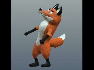 Cartoon fox