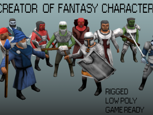 Fantasy characters pack