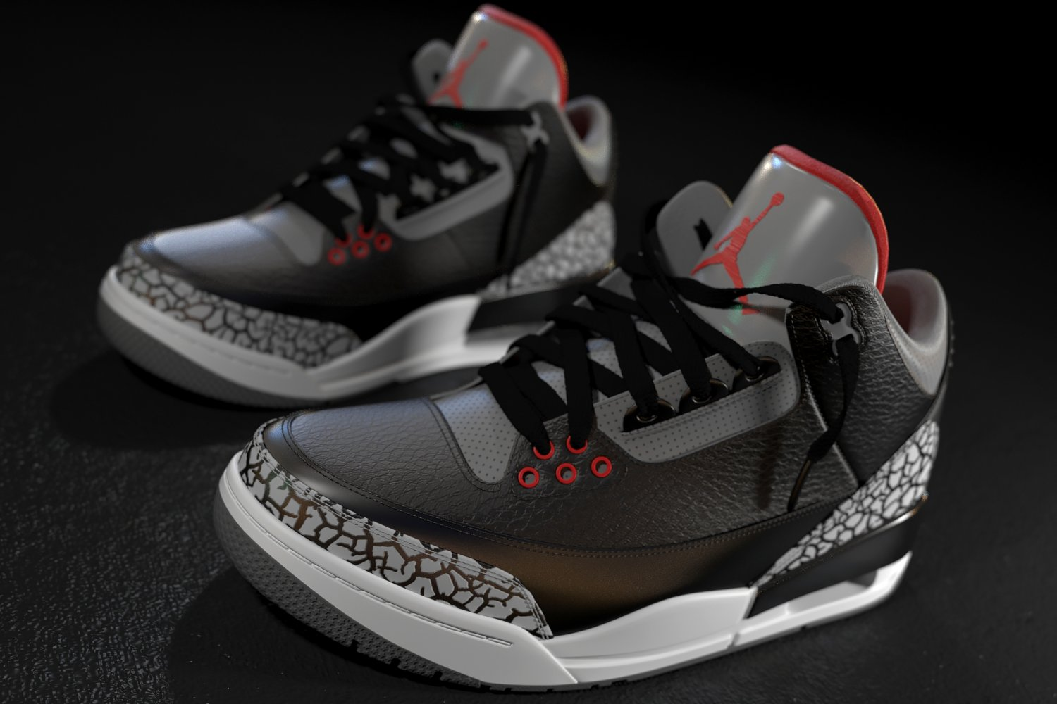 air jordan 3 black cement 2016 new sedan