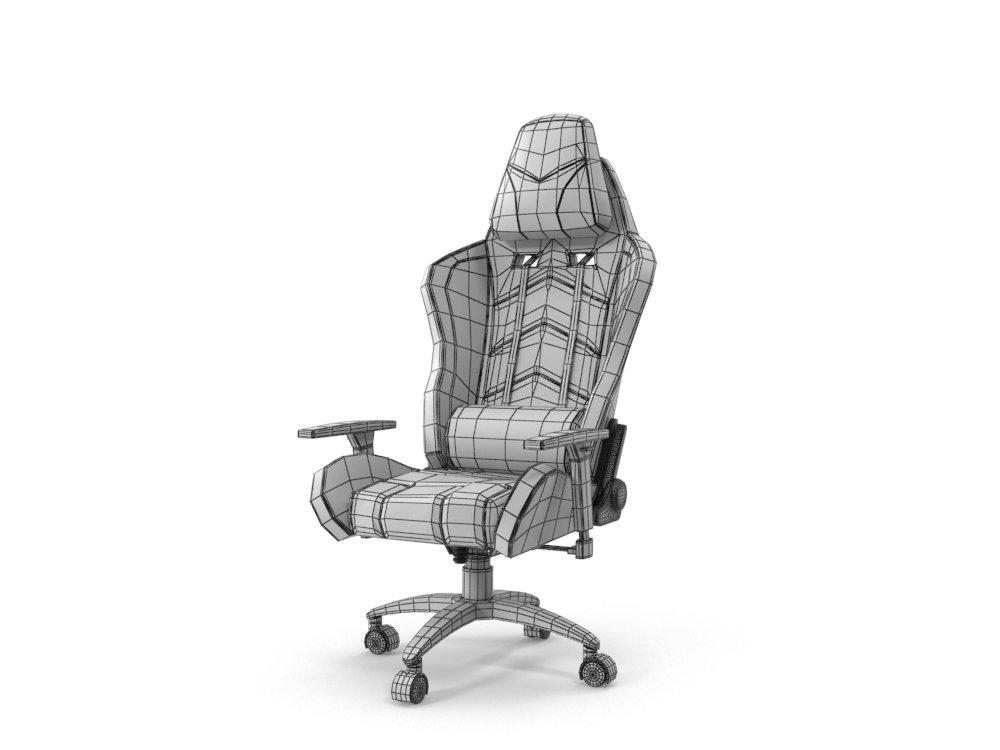 3dexport Computer In 3d Ikayaa Gaming Chair Model SzVpUMqG