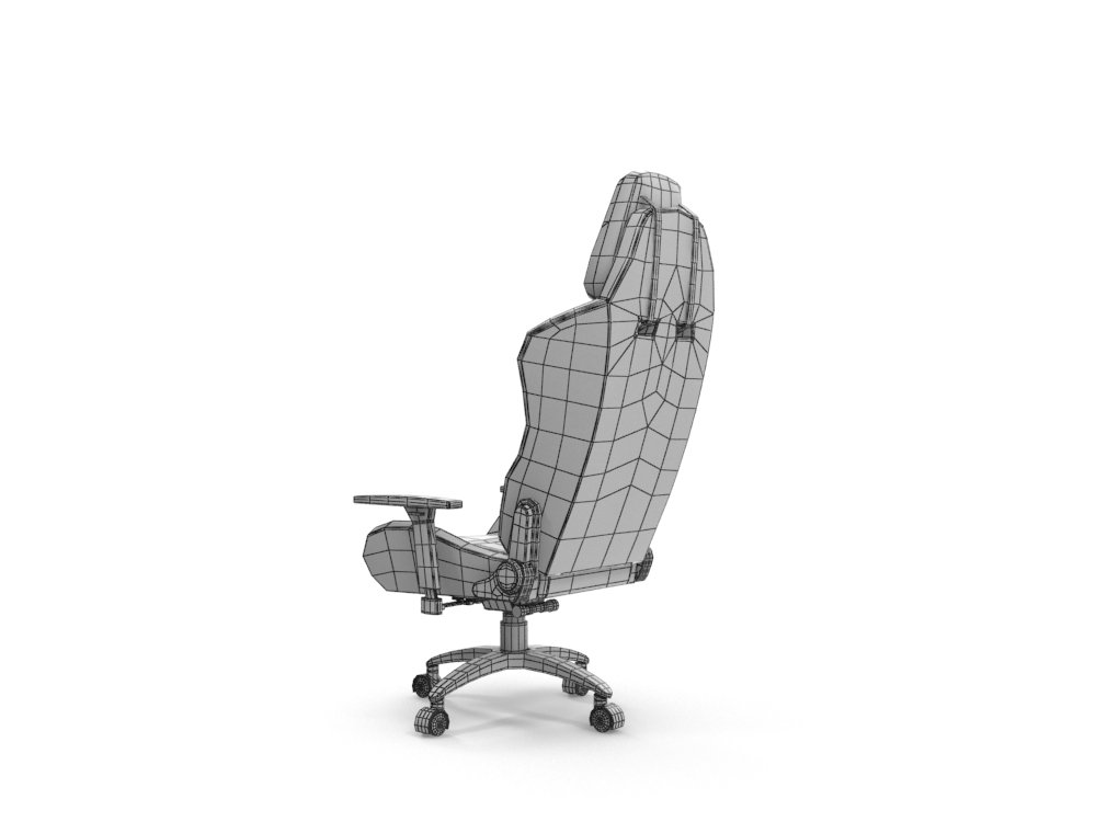Computer Gaming In Chaise Chair 3dexport Modèle Ikayaa 3d n0wvOyNm8