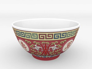 Chinese Porcelain - Rice Soup Bowl