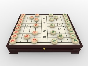 Chiness Chess - Xiangqi with table