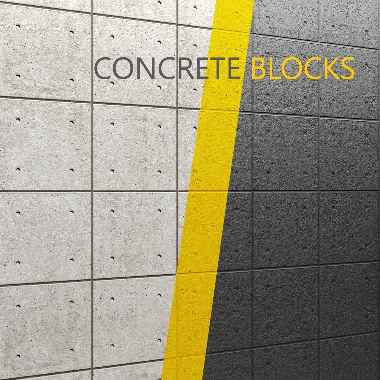 Concrete panel 3D Model in Decoration 3DExport