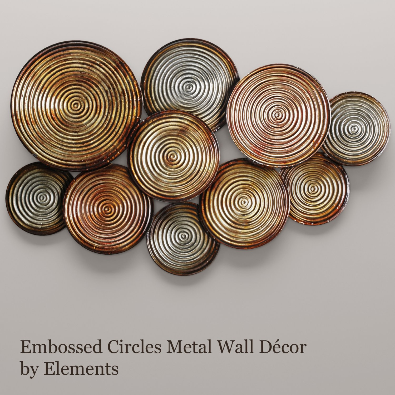 Circles Wall Decor 3d Model In Outdoor Items 3dexport