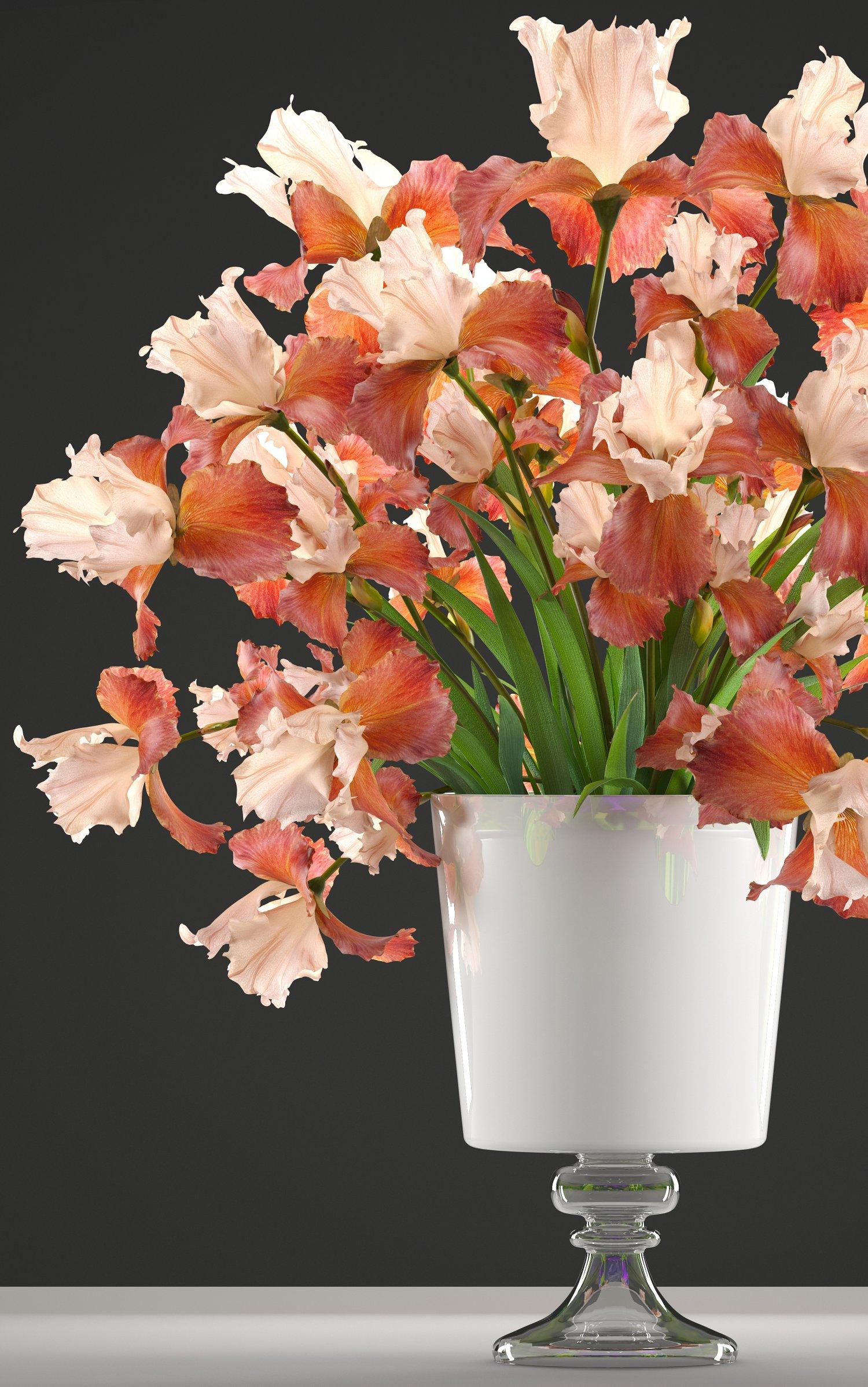 Flower bouquet of iris 3d model in flowers 3dexport flower bouquet of iris remove bookmark bookmark this item izmirmasajfo