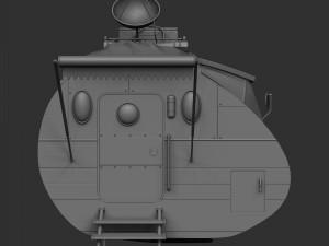 Cartoonic Space Car