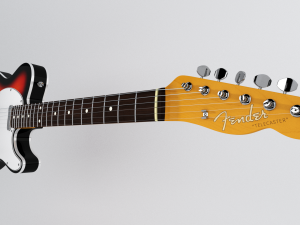 Fender 62 Telecaster Bound RW 3CS