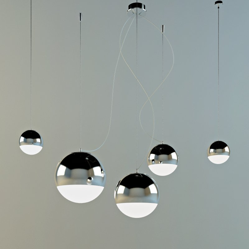 Padana Lampadari Free 3d Model In Ceiling Lights 3dexport