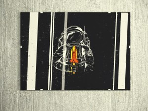 Picture of an astronaut